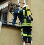 Rettung-Leiter